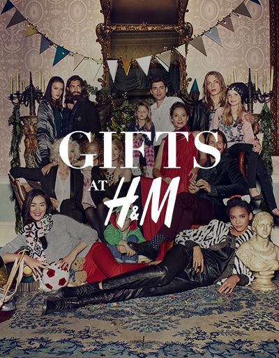 Gifts at H&M The gift-giving season is coming. We've got everything you or your family and friends could wish for in a collection packed with comfort and joy. - See more at HM.COM