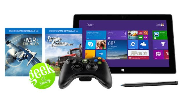 Microsoft\u0027s Surface Pro 2 \u0027Geek\u0027 bundle includes free Xbox