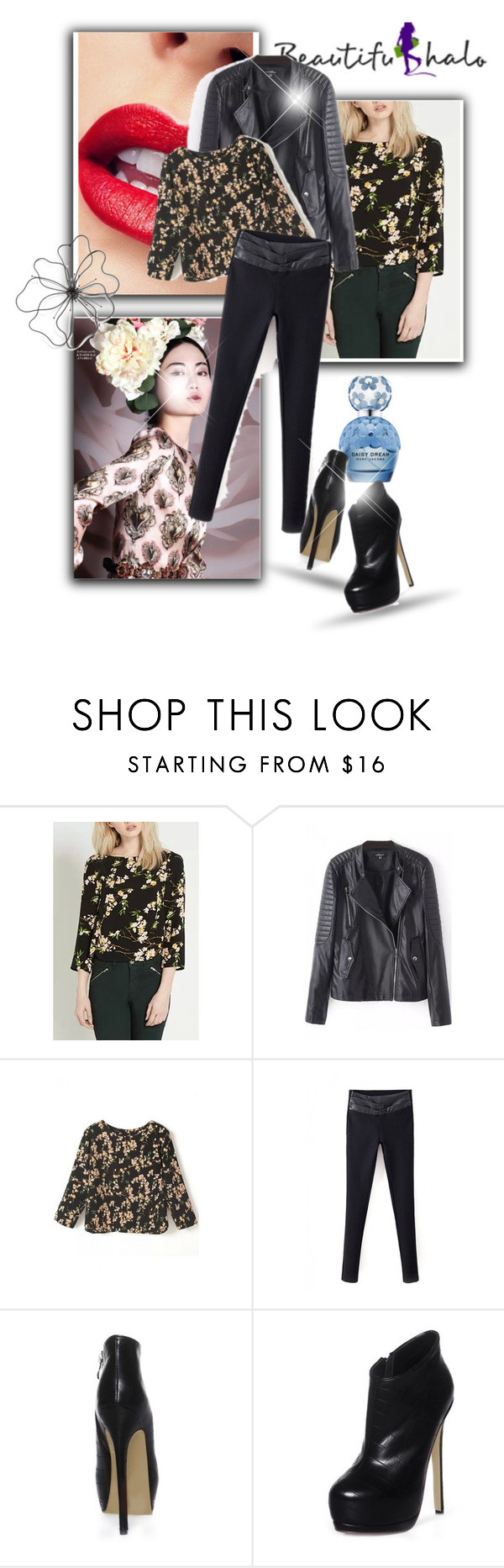 """""""BEAUTIFULHALO 1."""" by albinnaflower ❤ liked on Polyvore featuring Marc Jacobs and bhalo"""