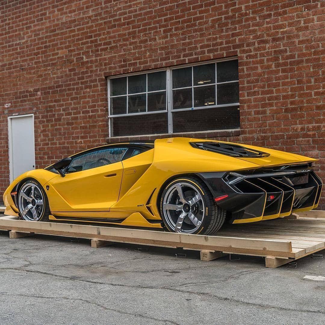 2017 Lamborghini Aventador Yellow Year Of Clean Water
