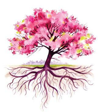 watercolor tree - Tìm với Google