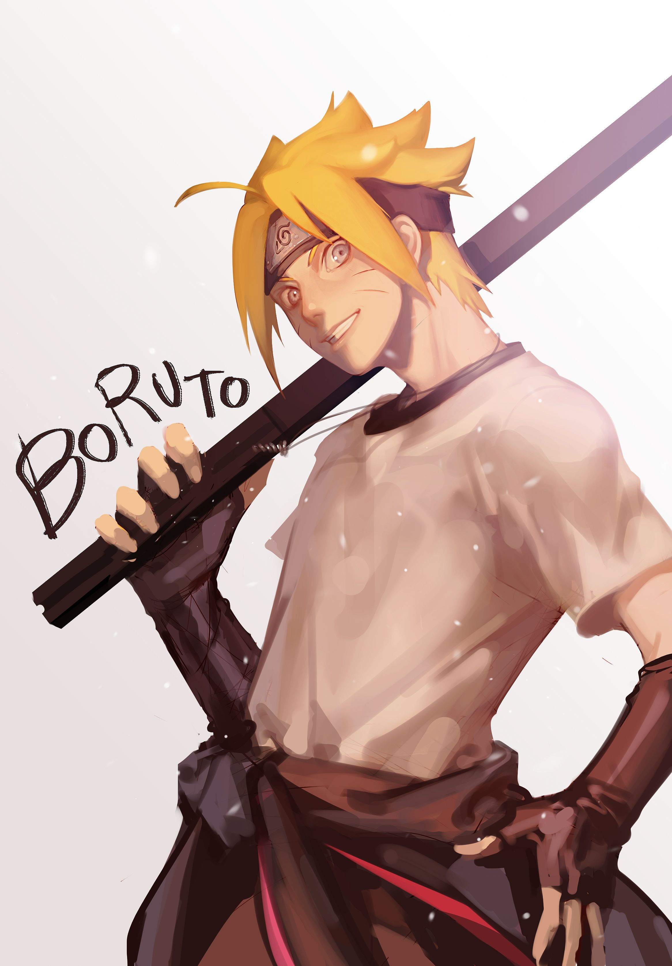 Tags Fanart, NARUTO, Pixiv, PNG Conversion, Fanart From