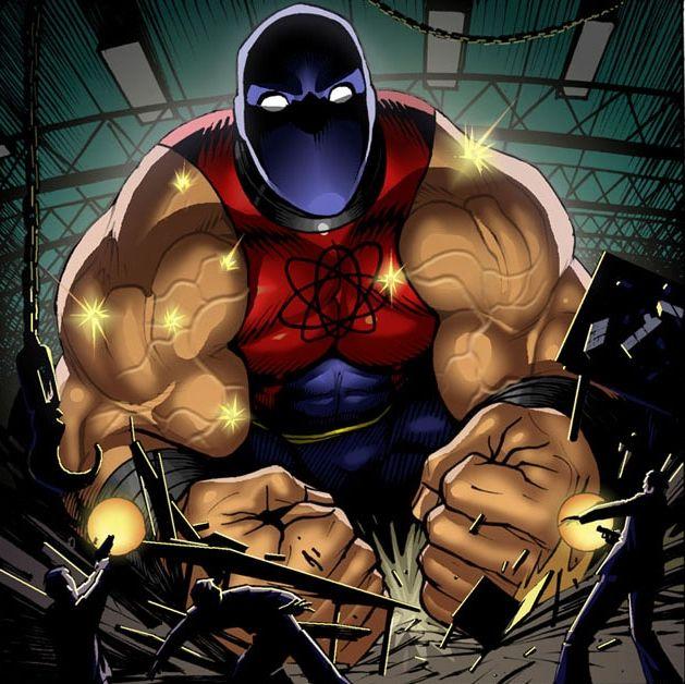 Atom Smasher DC superheroes