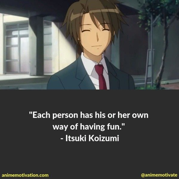 The Greatest Haruhi Suzumiya Quotes Of All Time Worth Sharing