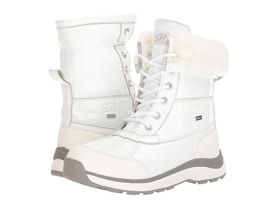 8de8ba0c08e UGG Adirondack Patent Boot III Women's Cold Weather Boots White ...