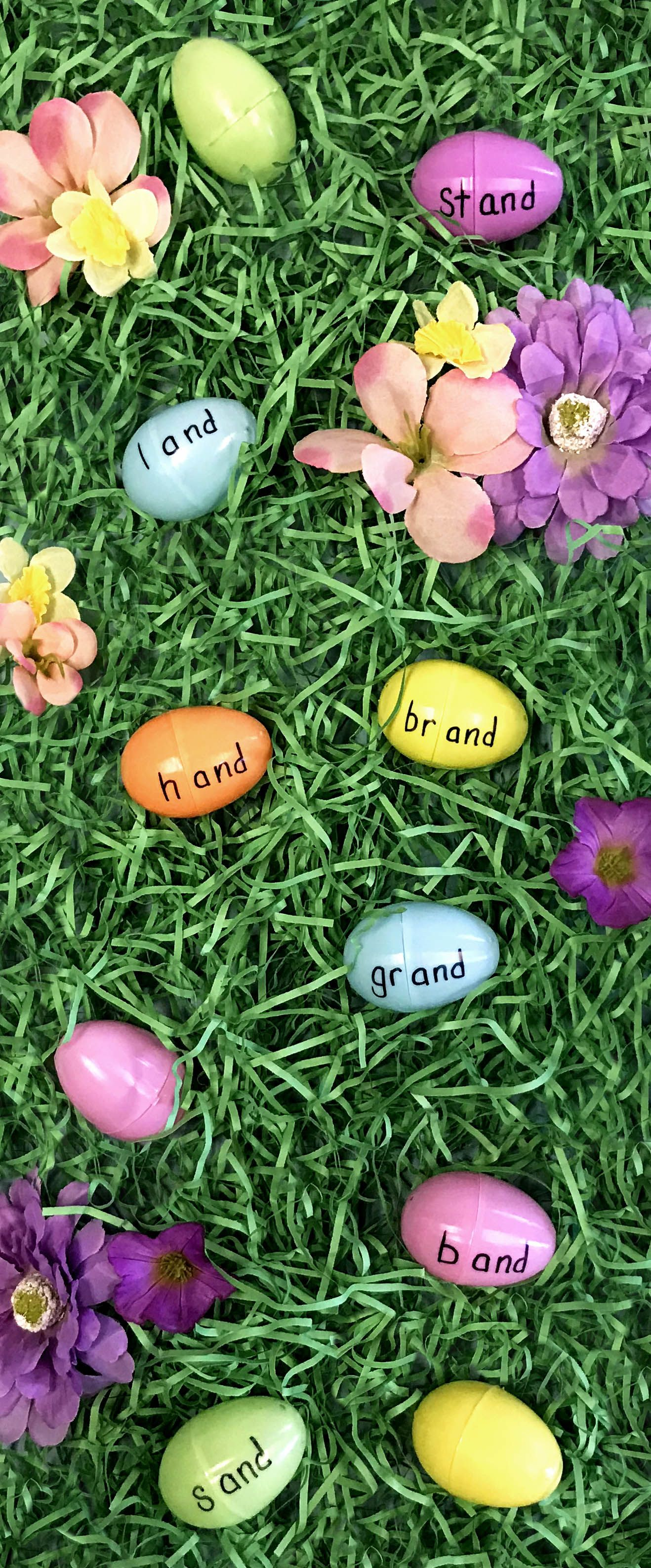 Use Plastic Easter Eggs To Help Your Students Practice