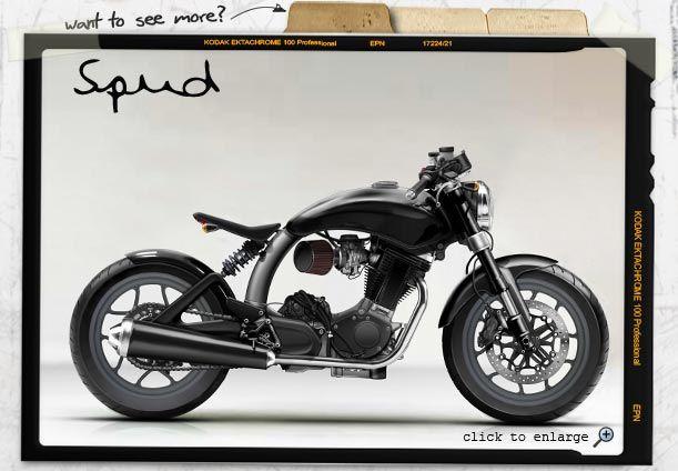 Mac motorcycles: Spud | Bicycles & Motorcycles | Moto bike ...