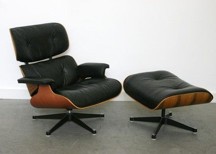 Vitra Chalres Eames : Eames lounge chair with ottoman early vitra production charles