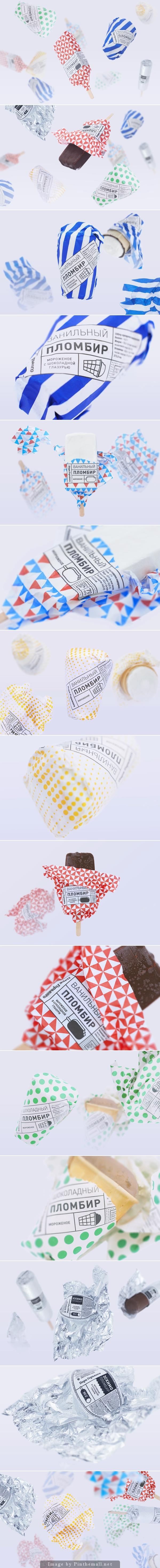 Gorky Park Icecream - #packaging #package #design