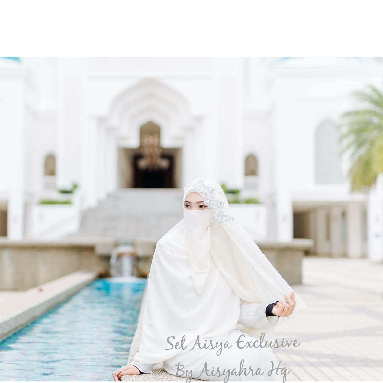 Muslimah Wedding Dress Niqab