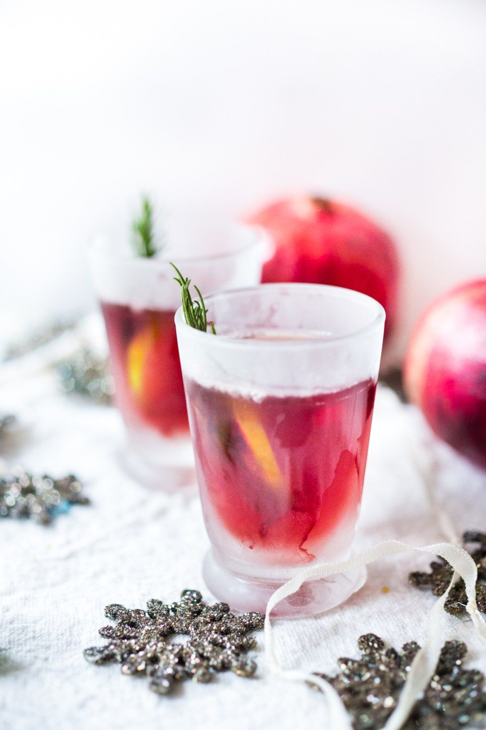 Pomegranate Drop With Rosemary Recipe Pomegranate Cocktail Recipes Pomegranate Pomegranate Juice