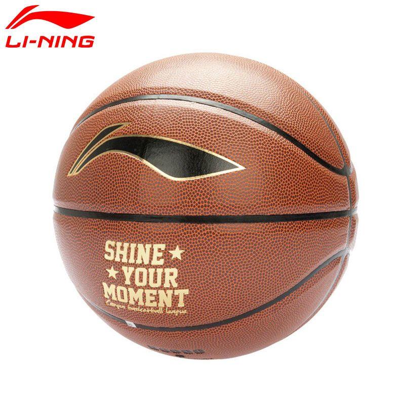 Li Ning B6000 Basketball Size 7 Pu Lining Sports Basketball Abqk082 Zyf188 Sports Basketball Sports Basketball