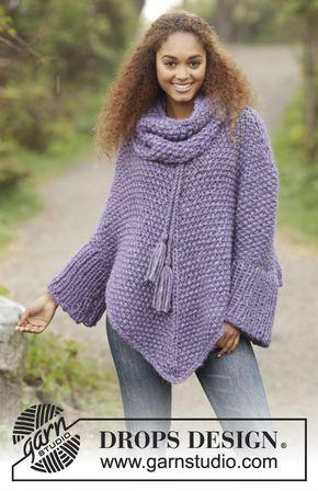 Free Pattern   crochet   Pinterest   Ponchos, Tejido y Tejidos de punto