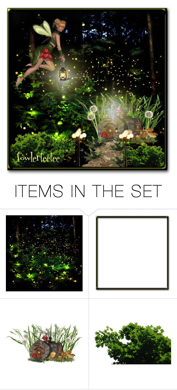 """Fairy's Forest...by fowlerteetee"" by fowlerteetee ❤ liked on Polyvore featuring art"