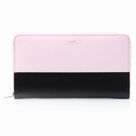 Céline Large Multifunction Zipped Wallet Convertible Bicolor Pink Espresso Calfskin Leather Clutch. Get the trendiest Clutch of the season! The Cline Large Multifunction Zipped Wallet Convertible Bicolor Pink Espresso Calfskin Leather Clutch is a top 10 member favorite on Tradesy. Save on yours before they are sold out!