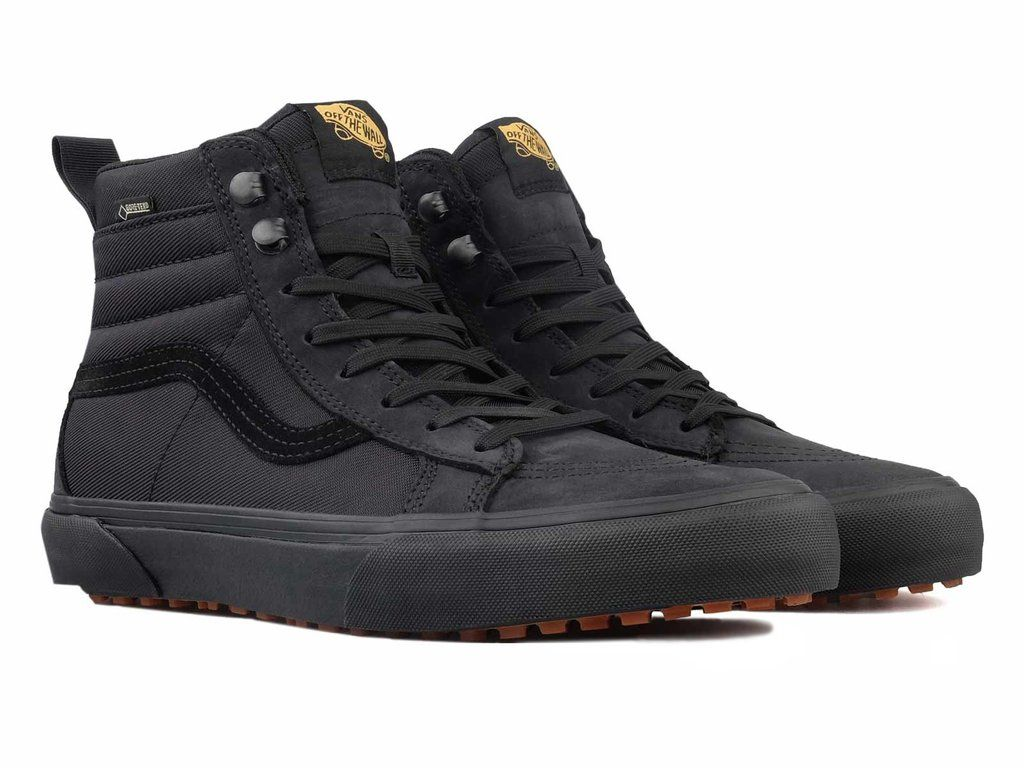 3eb2818fb0d5d0 Vans Vault SK8-HI GORE-TEX MTE Blackout. Find this Pin and more on all  black sneakers ...