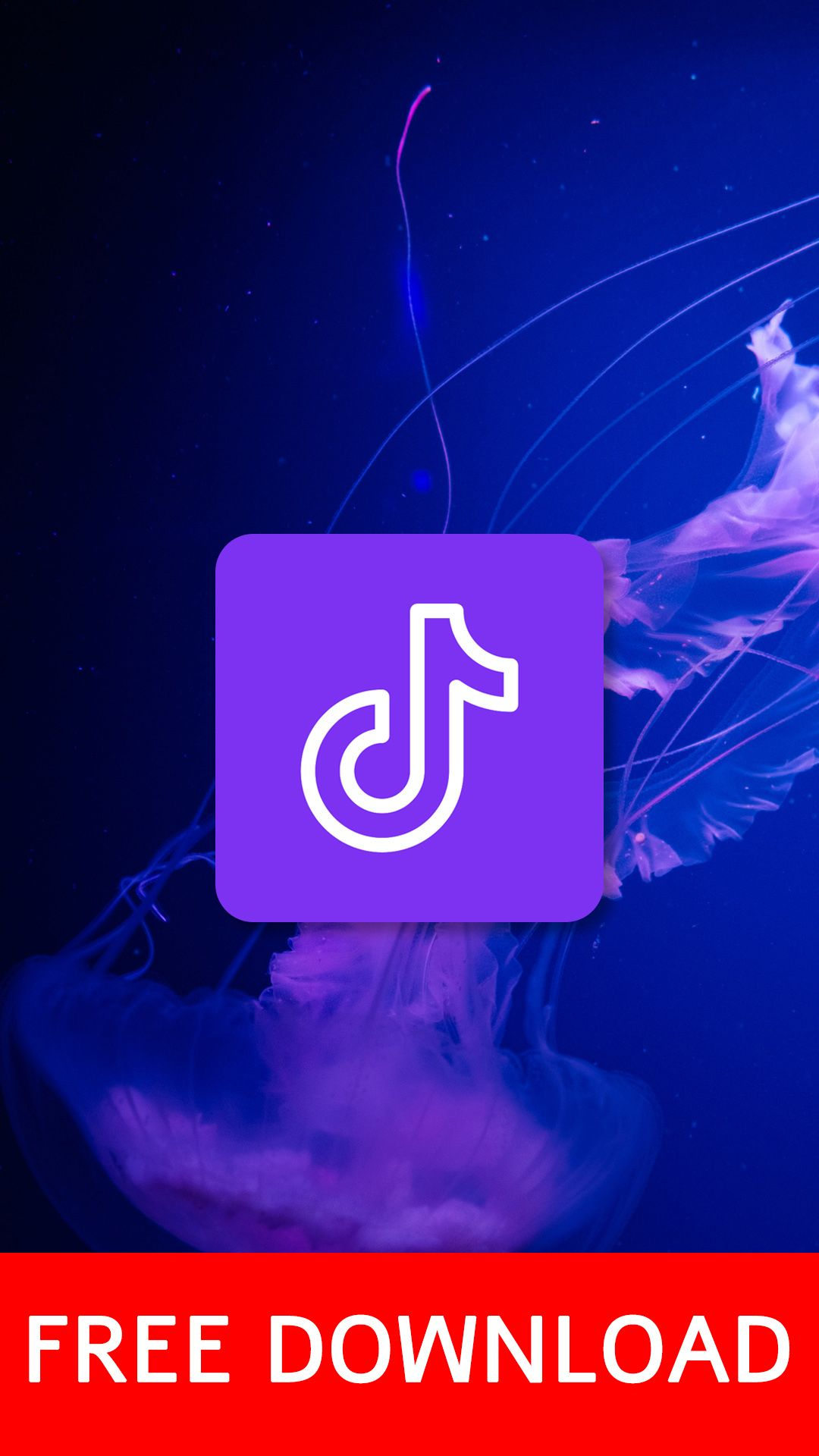 Purple Blue Theme App Icons Free Download Tik Tok In 2021 Themes App App Icon Blue And Purple