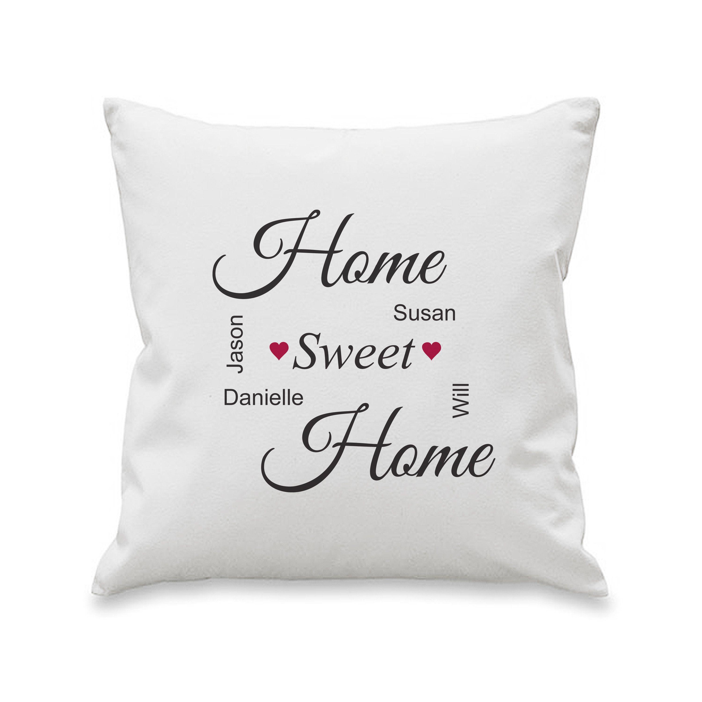 Home Sweet Home Cushion Cover Sweet home, Cushion cover