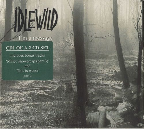IDLEWILD I'm A Message (1998 UK 2 6-track 2-CD single set)