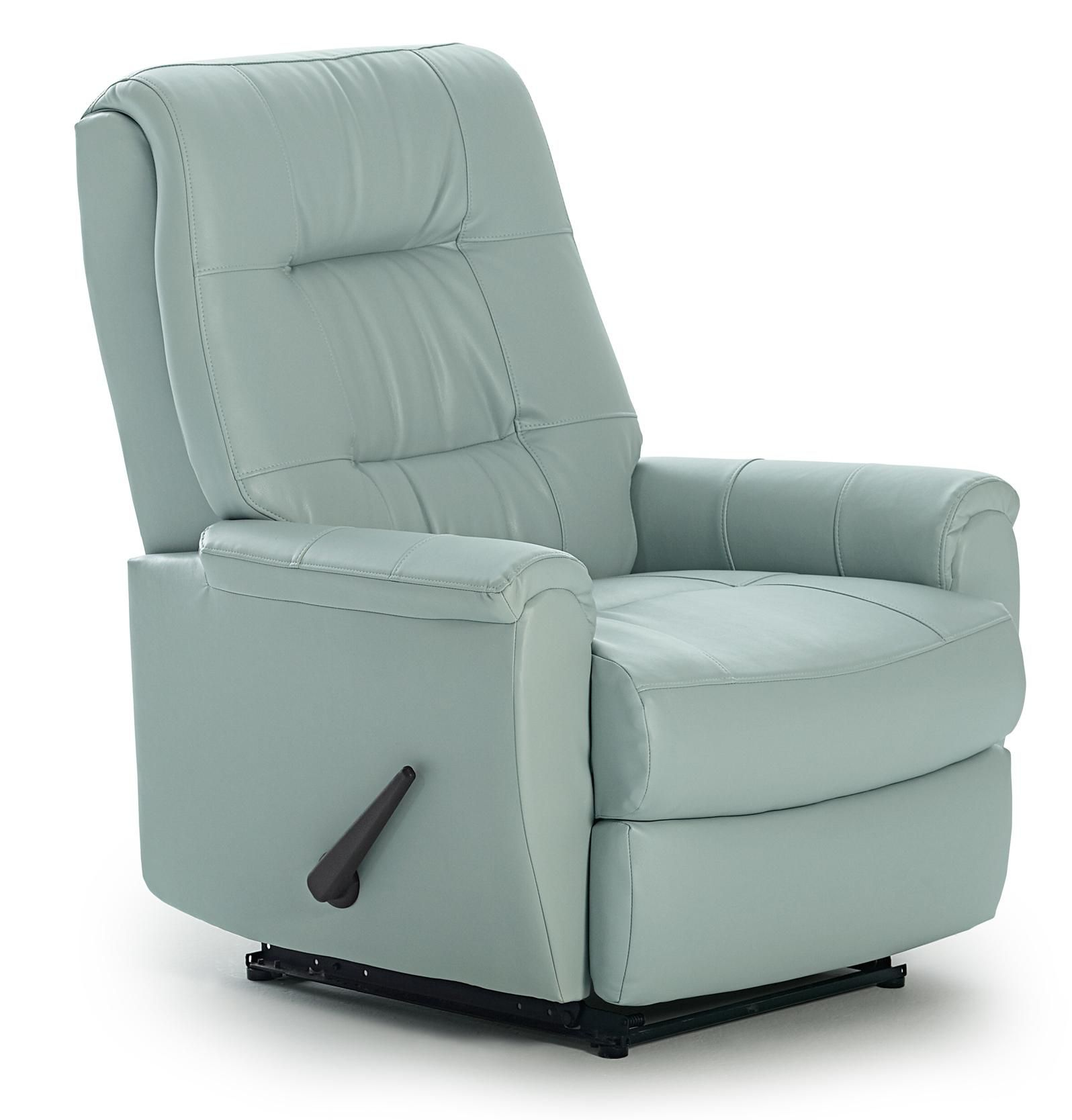 small leather power lucca genuine search reclining recliner steel headrest chairs the with brick rocker