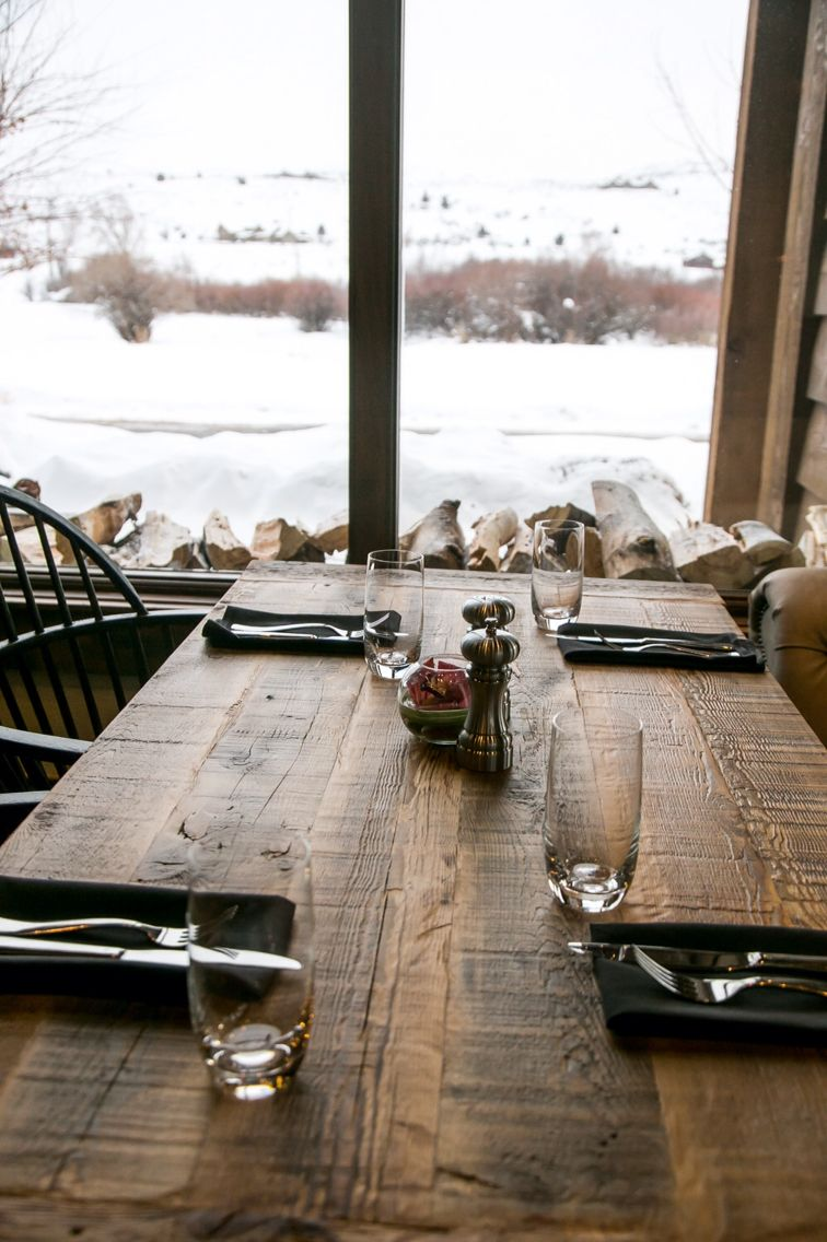 Reclaimed Rustic Restaurant Table Tops For Victory Ranch UT - Rustic restaurant table tops