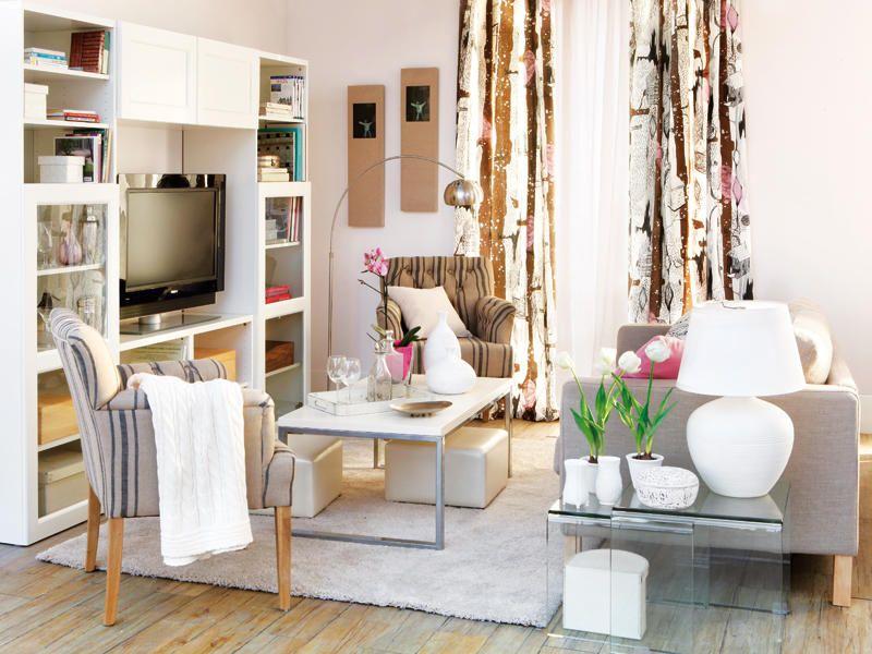 Salones prácticos y con mucho encanto | Salón, Diferentes estilos y ...