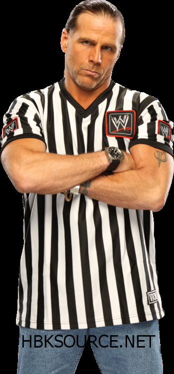 Shawn Michaels The Best Looking Ref I Ve Ever Seen Shawn Michaels Wwe Shawn Michaels Shawn