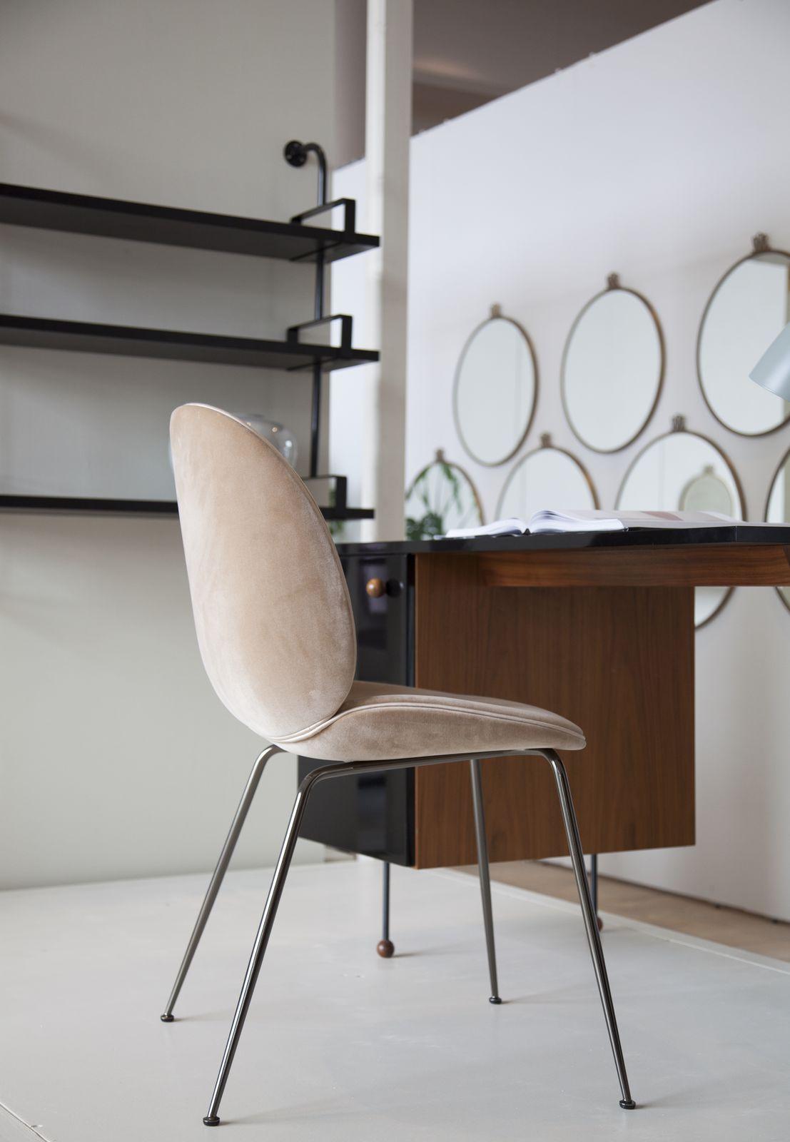 Gubi Beetle Chair And Grossman Desk Chaise