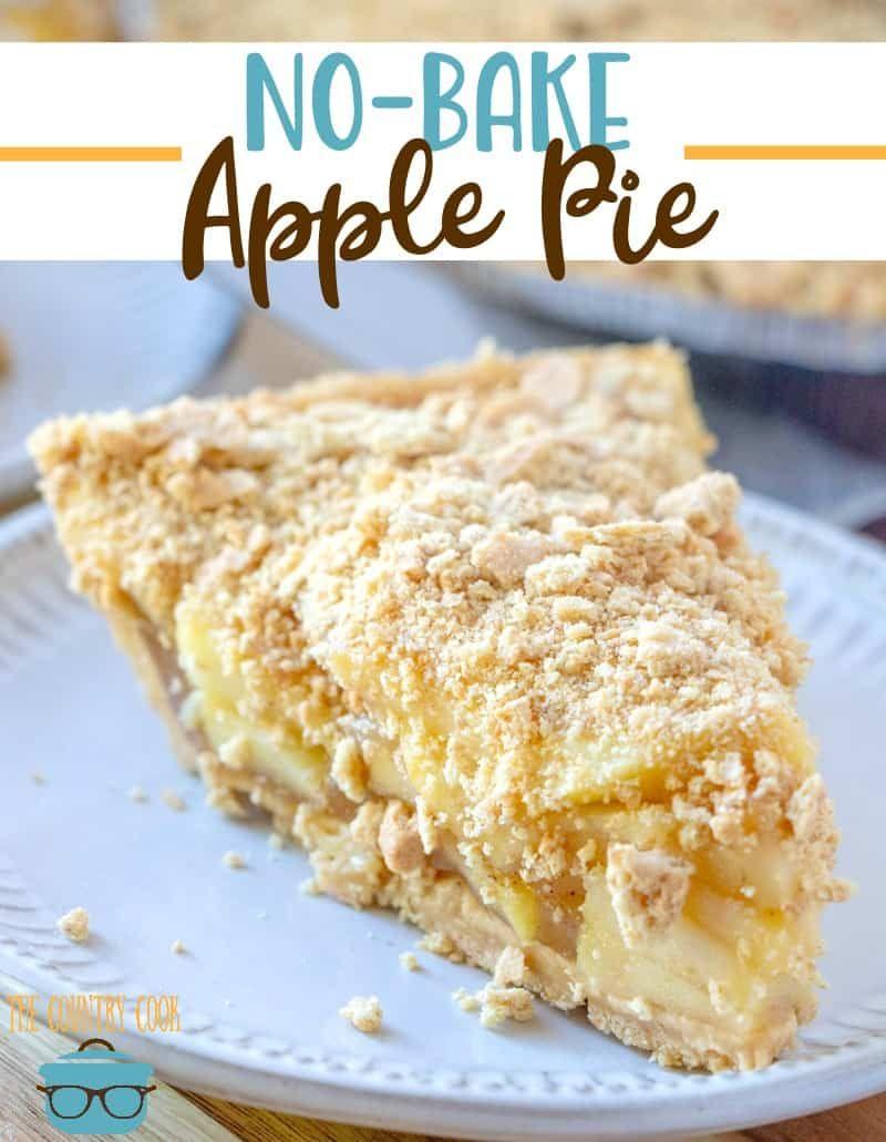 Easy nobake apple pie Recipe Baked apples, Apple