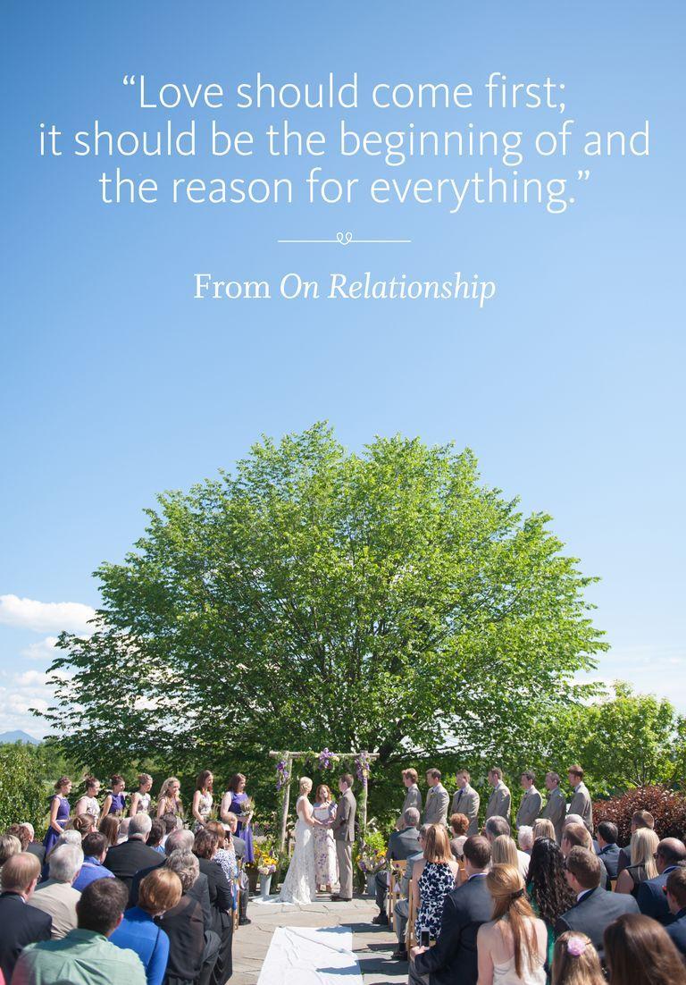 44 Ceremony Readings You'll Love Wedding ceremony