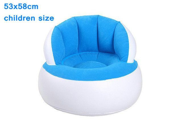 Strange Flocking Inflatable Sofa Foldable Children And Adults Both Machost Co Dining Chair Design Ideas Machostcouk