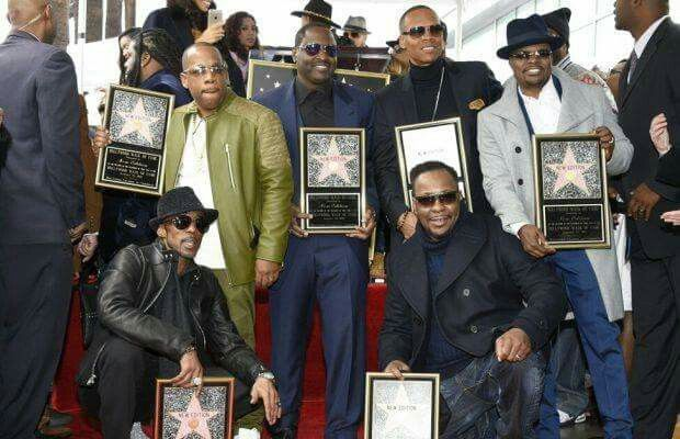 New Edition Receives Star on Hollywood Walk of Fame {01/23/2017}