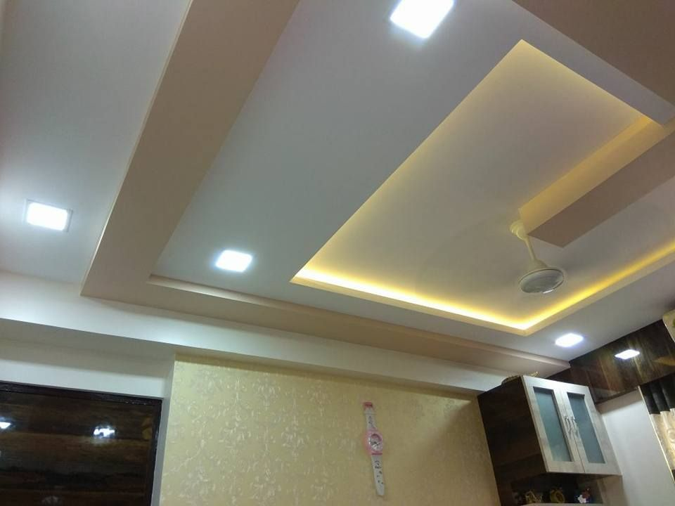 Celling design in bedroom: modern by kumar interior thane ...