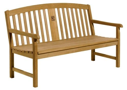 oxford garden signature series 5 ft wood park bench commercial