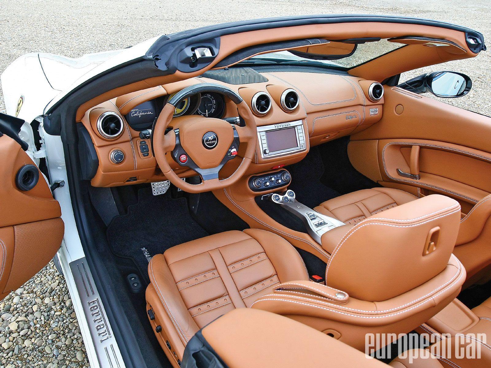 Ferrari California interior #10 | Ferrari California | Pinterest ...