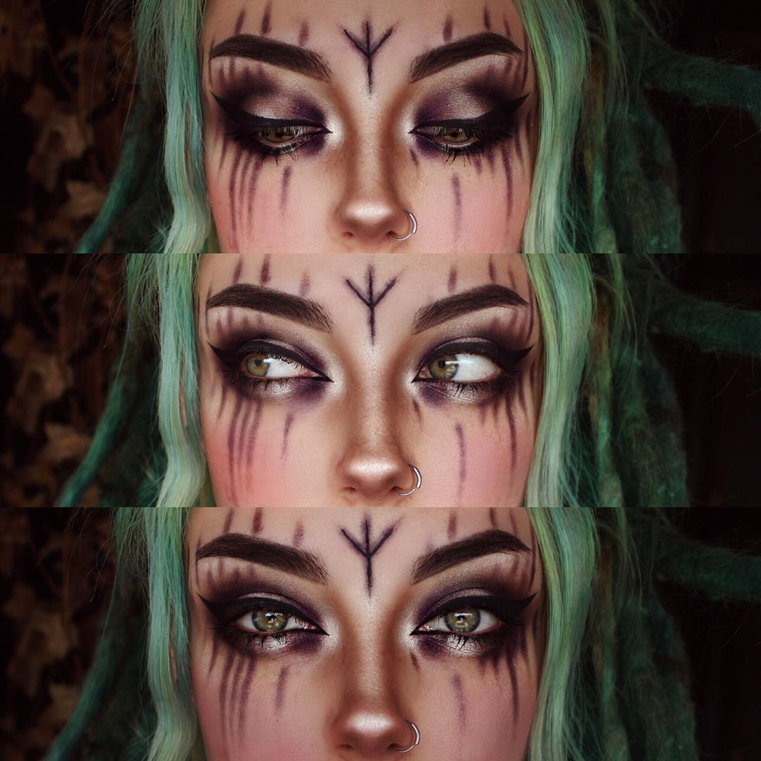 Pagan makeup image by S T on War Paint War paint
