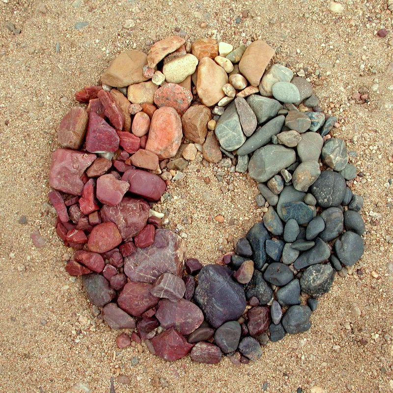 Kivinen väriympyrä
