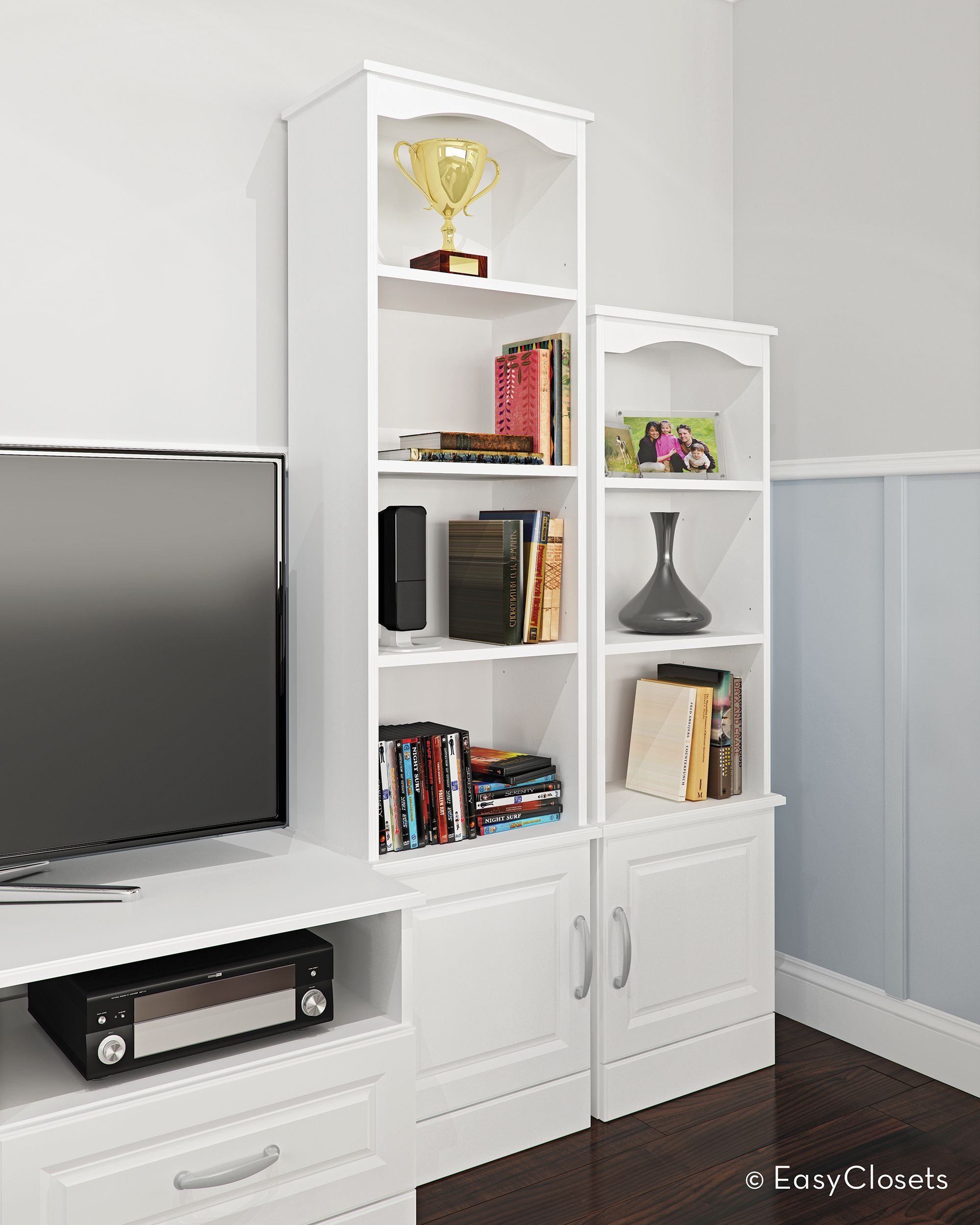 TV Stand And Traditional Tower