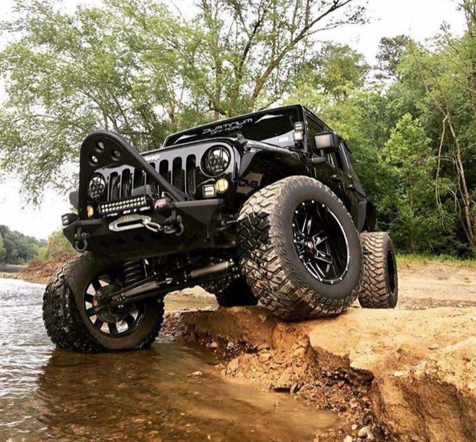 Pin By Savannah Baker On Jeep Jeep Truck Black Jeep Jeep Wrangler