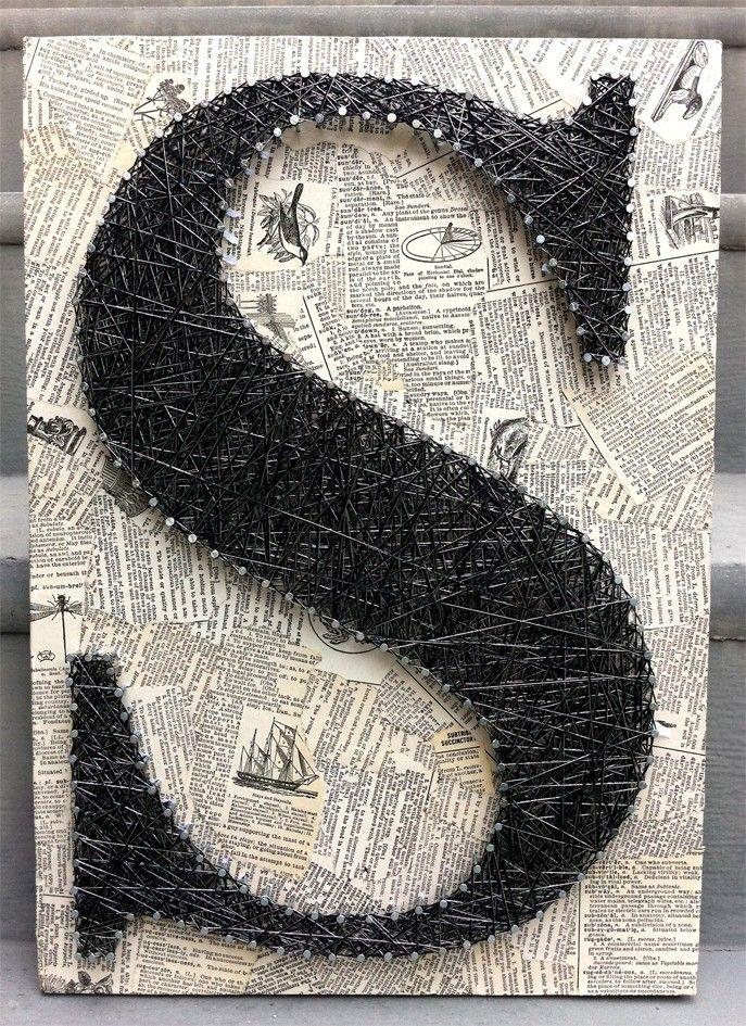 Nail n thread art