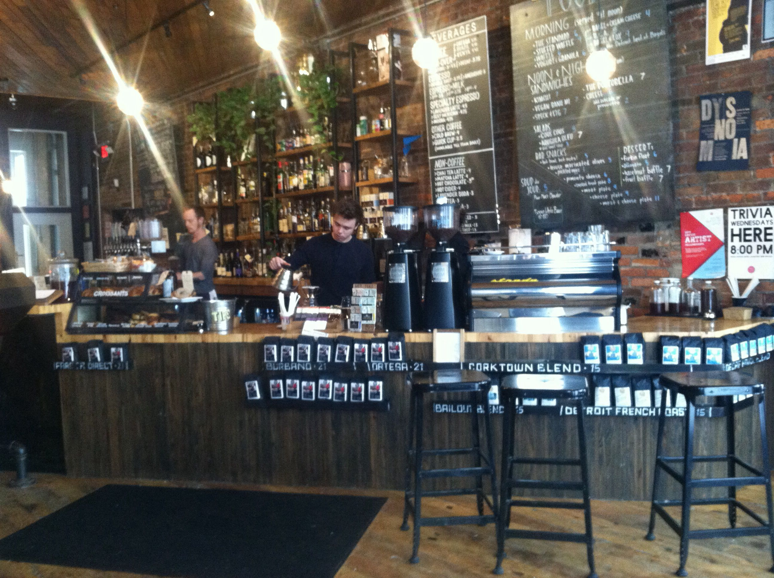 Great lakes coffee in detroit mi good blend of bar and