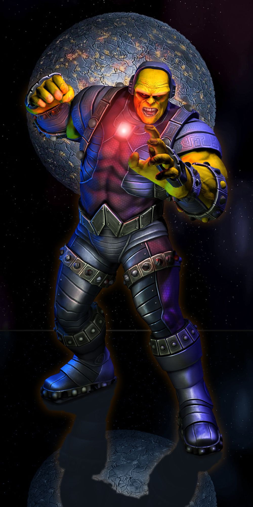Justice League Game Mongul Jon Gwyn Dc Comics Heroes Comic Book Characters Superhero