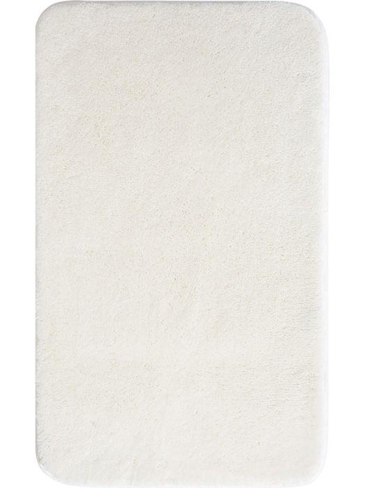 Der schöne und weiche Badteppich Comfort in offwhite ist aus Polyacryl ultrasoft. Der Teppich ist waschbar bei 40°C und geeignet für Fußbodenheizung. Die Rückseite ist rutschhemmend beschichtet. Außerdem ist der Badvorleger schnelltrocknend und so auch nach dem Waschen schnell wieder einsatzbereit.
