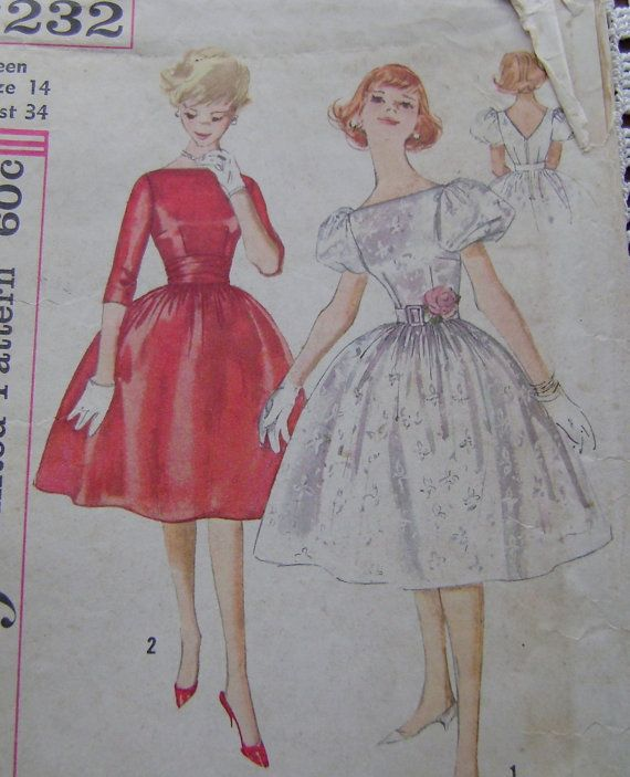 Military Ball for 2013. A 1950\'s red dress pattern | Sew much fun ...