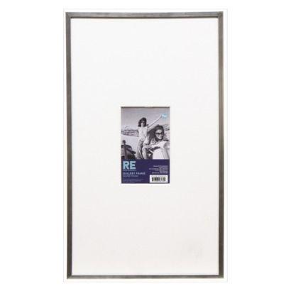 Room Essentials Frame 11x19 With Mat Room Essentials Coastal Casual Living Room Gallery Shelves