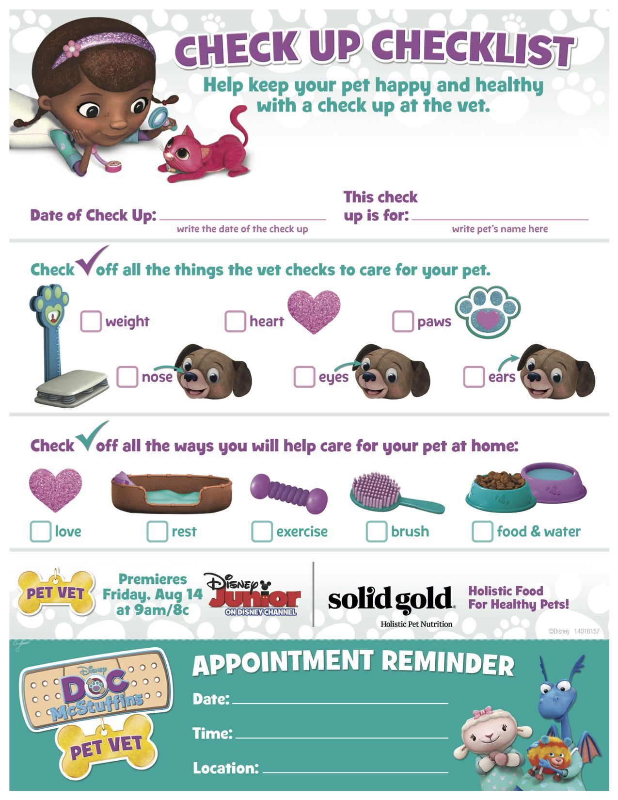 Every Pet Loving Kid Has Dreams Of Becoming A Vet Let Them Live Their Dreams By Setting Up An At Home Check Pet Vet Pet Care Printables Doc Mcstuffins Pet Vet