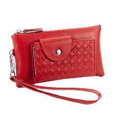 13fdb0880 Billeteras de mujer baratos online monederos de clutch de piel auténtico  [ANW61065] - €