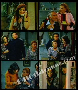 """Rhoda - Season 2 - Episode 39 -- """"Bump in the Night"""" --- Somewhere in Rhoda's neighborhood, a burglar is walking the street, possibly going after her because she just might be the only person able to identify him."""