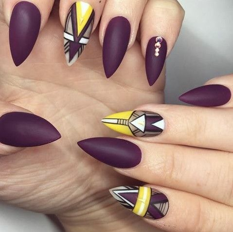 Anchor NailsNail Art DesignsFunky ... - Pin By NailsMojaInfo On Nail Art Pinterest Nails Inspiration