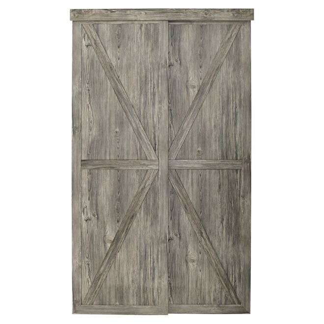 Countryside Sliding Door Antique 48 X 80 12 Possible Front